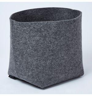 Silo Planter Basket Anthracite Large