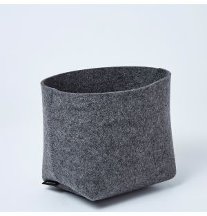 Silo Planter Basket Anthracite Small