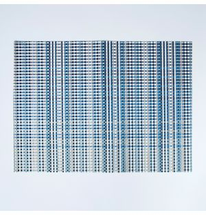 Grid Placemat Blue