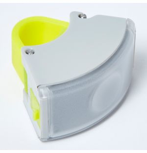 Curve Front Light 2 Grey & Acid Yellow