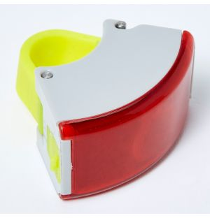 Curve Rear Light 2 Grey & Acid Yellow