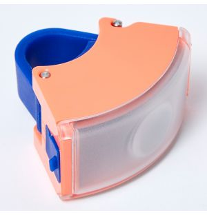 Curve Front Light 2 Neon Coral Pink & Dark Blue