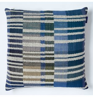 Delphi Cushion Cover in Blue 45cm x 45cm