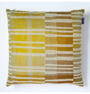 Delphi Cushion Cover in Yellow 45cm x 45cm