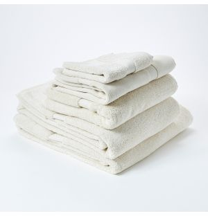 Premium Terry Towel Collection Ivory