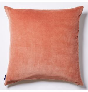 Velvet Cushion Cover in Soft Pink 50cm x 50cm