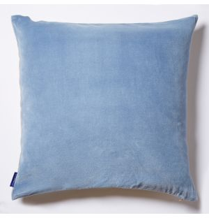Velvet Cushion Cover in Pale Blue 50cm x 50cm