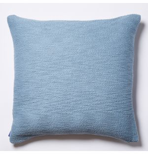Slub Cushion Cover in Pale Blue 50cm x 50cm