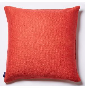 Slub Cushion Cover in Burnt Orange 50cm x 50cm