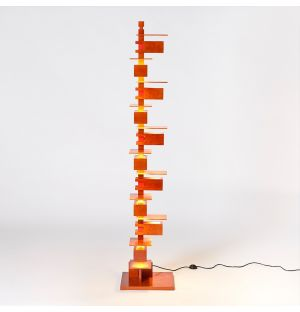 Taliesin 2 Floor Lamp Cherry