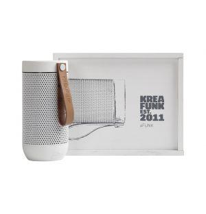 aFUNK Bluetooth Speaker White