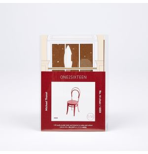No. 14 Chair Paper Model Kit