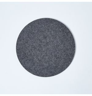 Felt Round Trivet Anthracite