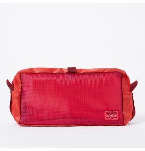 Porter Snack Pack Pouch in Scarlet