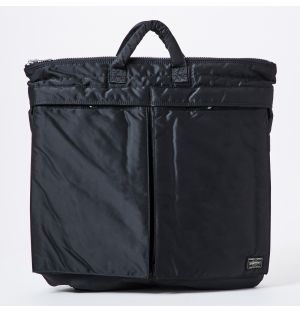 Porter Tanker 2Way Helmet Bag in Black
