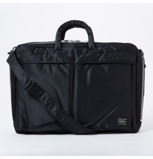 Porter Tanker 2Way Briefcase in Black