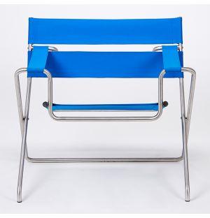 D4E Folding Outdoor Chair in Bauhaus Blue Ex-Display