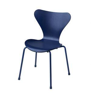 Series 7 3177 Children's Chair AI Blue & Powder-Coated Base