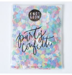 Tiny Party Confetti Bag in Rainbow