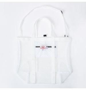 Mesh Tote Bag in White