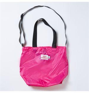 Mini Packable Tote Bag in Fuchsia