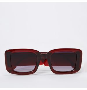 Avery Sunglasses in Burgundy