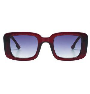 Avery Sunglasses in Burgundy