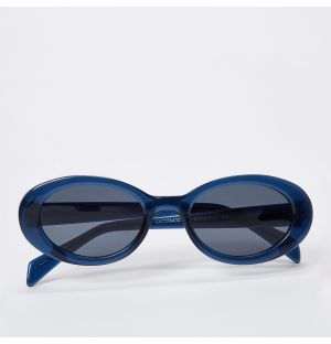 Ana Sunglasses in Navy