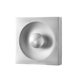 Spiegel Wall & Ceiling Light Brushed Aluminium