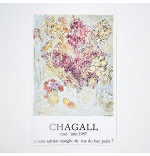 Marc Chagall Les Fleurs Séchées' Poster