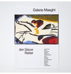 Wassily Kandinsky 'Der Blaue Reiter' Poster
