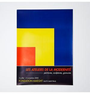 Ellsworth Kelly 'Les Ateliers de la Modernité' Poster