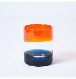 Ombre Tumbler in Orange & Blue