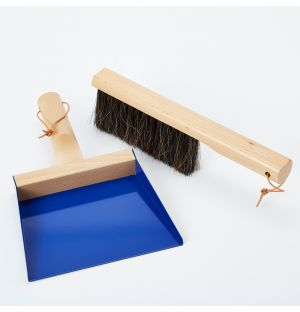 Exclusive Coffret Dust Pan & Brush in Conran Blue