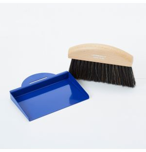 Exclusive Table Dustpan & Brush in Conran Blue