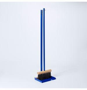 Tall Dustpan & Brush in Conran Blue