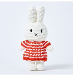 Miffy In A Striped Red Dress