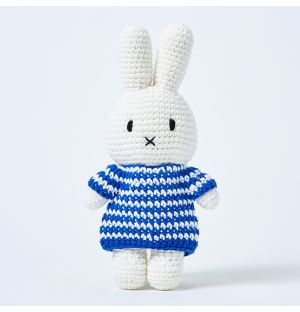 Miffy In A Striped Blue Dress