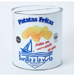 Tub of Potato Crisps