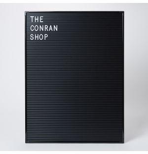 Letterboard in Black