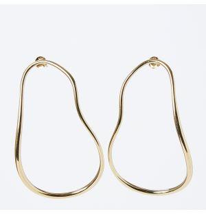 Subcommittee Earrings in Gold