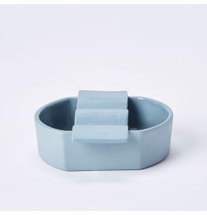 Ceramic Soap Dish in Sky Blue
