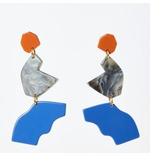 Intervalle Marino Earrings