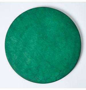 Alabaster Round Placemat in Green