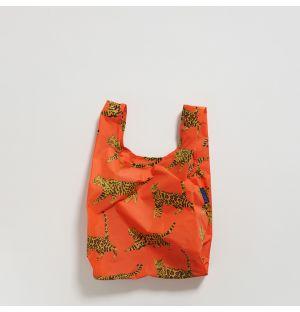 Small Reusable Tote Bag in Bengal Cat