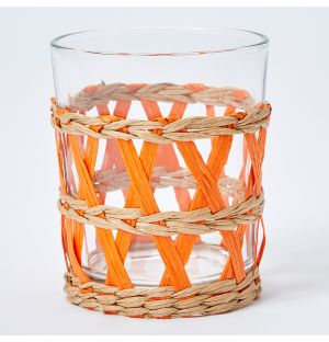 Reed Tumbler in Orange