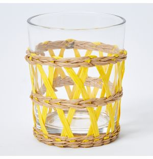 Reed Tumbler in Yellow