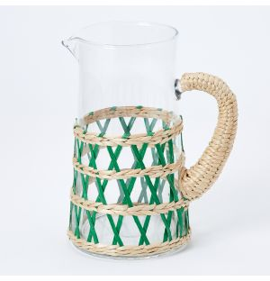 Natural Reed Jug