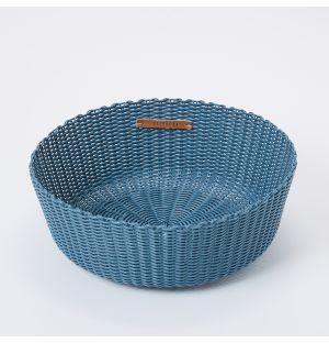 Small Fruit Basket in Palo Blue