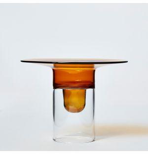Firefly Candleholder in Amber